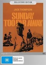 SUNDAY TOO FAR AWAY -1975 JACK THOMPSON GENUINE REGION 4 DVD RARE OOP AS NEW