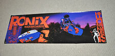 "RONIX BILL FRANK BANNER With ADAM ERRINGTON 48"" * 16""  Wakeboard"