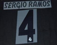 Real Madrid Sergio Ramos 4 2018/19 Camiseta De Fútbol Nombre/Número Set Sporting Id