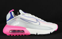 New Nike Women's Air Max 2090 in White/Concord-Pink Blast Colour Size US 8.5