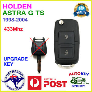 HOLDEN ASTRA TS REMOTE KEY 433MHZ COMPLETE KEY 1998-2004