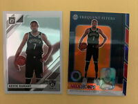 2019-2020 Kevin Durant Hoops Premium Frequent Flyers Orange PrIzm ( Free Optic)