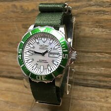 INVICTA 2844 PRO DIVER 200M Abyss Mens Wrist Watch 21j Automatic MOP Dial