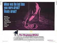 MEPHISTO WALTZ half sheet movie poster 22x28 JACQUELINE BISSET 1971