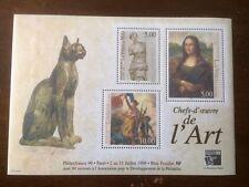 BLOC  CHEF D'OEUVRE DE L'ART PHILEXFRANCE N°23  DE 1999 COTE 50€