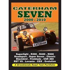Caterham Seven 2000-2010 Road Test Portfolio book paper