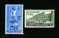 Trieste Stamps # 72-3 VF OG LH