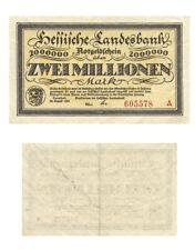Deutsches Reich 2 Millionen Mark Notgeldschein