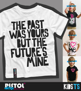 Water Pistol Boutique Kids Boy Girl THE STONE ROSES PAST WAS YOURS White T-shirt