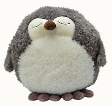 Cozy Time Giant Owl Handwarmer. Big Soft Plush Cuddly Toy.