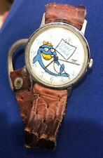 Vintage Sorry Charlie Tuna Quartz Watch W/Original Band? Calendar Days 1970s