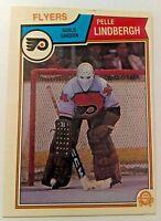 1983-84 O-PEE-CHEE #268 PELLE LINDBERGH FLYERS ROOKIE LNC