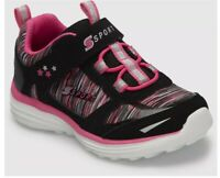 S Sport by Skechers Tyro Athletic Shoes Black/Pink Toddler Girls Size 7 Sneakers