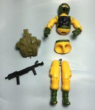 GI Joe Airtight Hostile Environment 1985 Action Figure with Backpack Gun Hasbro