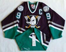 Vintage Paul Kariya Anaheim Mighty Ducks Nike Authentic Jersey Size 48