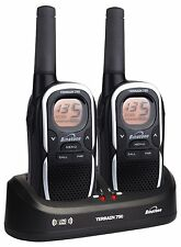 Binatone TERRAIN 750 Two Way Radio Extra Long Range 5 Miles Rechargeable - Black