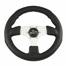 "Schmitt Fantasy Steering Wheel Diameter 13.8"" Pu013101 3/4"" tapered shaft Md"