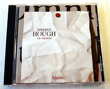 Stephen Hough in recital (CD, Mar-2009, Hyperion) RARE Classical Piano Music CD