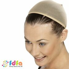 Nude wig cap perruque essentiel respirant-femme femmes accessoire robe fantaisie