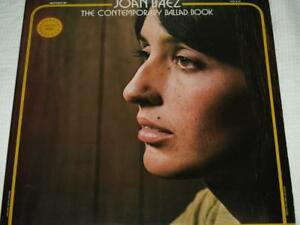 JOAN BAEZ, CONTEMPORARY BALLAD BOOK, 1ST PRESS 1974 DOUBLE VINYL ALBUM NM/EX