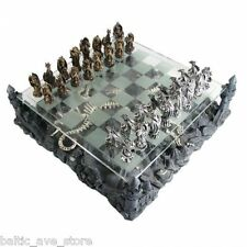 NEW Fantasy Gifts Chess Set Dungeons and DRAGONS FIGURINES Game of Thrones Room