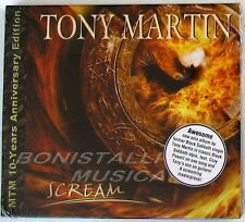 TONY MARTIN - SCREAM - 10 years Anniversary Edition CD Sigillato