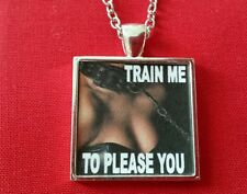 BDSM JEWELRY Necklace Day Collar * Train Me to Please You * Fetish Lifestyle