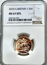 More details for 2010 gold sovereign, ngc ms67 dpl  great britain uk