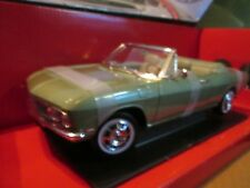 corvair monza 1969 chevy convertible 1/18 MODEL CAR BY ROAD SIGNATURE lt green