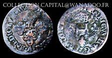 Henri III Sol Parisis 1551A  ou Trois Blancs ou Demi Gros de Nesle Billon 2.75gr