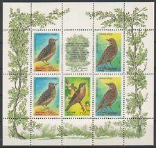 1995 Russia Songbirds Birds MNH