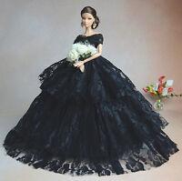 Fashionistas Hochzeit Kleidung Prinzessinnen Kleider Für Barbie Puppe S134D