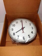 """America Time & Signal 13"""" Clock For School Business office"""