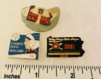 3 Little League Baseball PINs - PA D23 D21 D18 Rock-Holland - SugarLoaf Etc.