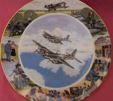 ROYAL DOULTON TAKING IT ALL IN THEIR STRIDE PLANE PLATE LOCAL HEROES MIKE DELANY