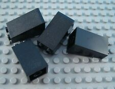 LEGO Lot of 4 Black 2x2x3 Slope Pieces