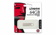 Kingston USB 64GB Traveler de datos DTSE9 G2 USB 3.0 USB Flash Drive Nuevo ct ES