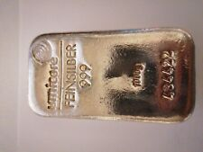 Umicore 1kg Silver Bullion Bar. 999