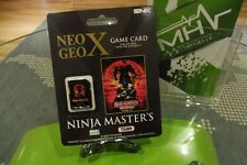 NINJA MASTER - NEO GEO X - NEUF - FACTORY SEALED -