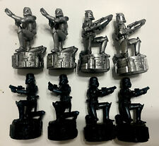 Star Wars Saga Edition Chess Set 8 Clone Trooper Pawn Piece Mover Cake Toppers