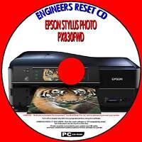 EPSON PX830FWD TX830FWD ARTISAN 830 PRINTER WASTE INK PAD RESET PROGRAM PC CD