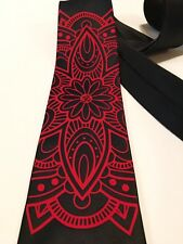 Mandala Necktie, New, Unique