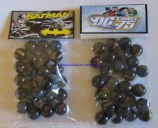 2 BAGS OF DC COMICS 75 BATMAN CARTOON ADVERTISING PROMO MARBLES