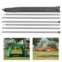 Outdoor Canopy Tent Poles Replacements Tarp Awning Frames Upright Supporting