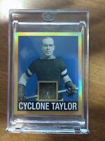 2017-2018 Leaf Hockey Originals Cyclone Taylor 1/1!!!