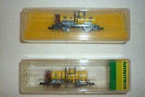 "Minitrix - Vagón Cisterna Set 2-TEILIG"" Olex ""Con Bh Emb.orig 13232 Escala N ("