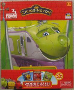 CHUGGINGTON FRAMED 9 PIECE WOODEN PUZZLE/JIGSAW - KOKO** BRAND NEW **