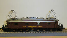 Roxy HO 10040,  J964 BLS Be 6/8 Nr.204 BREDA electric locomotive brown.