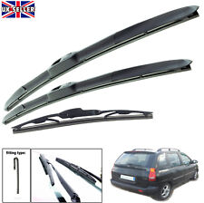 "Hyundai Matrix 2001-2010 hybrid wiper blades set of front & rear 22""16""14"""