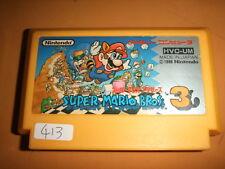SUPER MARIO BROS 3 Label injury Nintendo Family computer FC Famicom NES